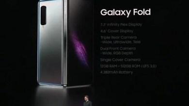 Photo of الغطاء الواقي الجلدي Cover لهاتف Galaxy Fold القابل للطي