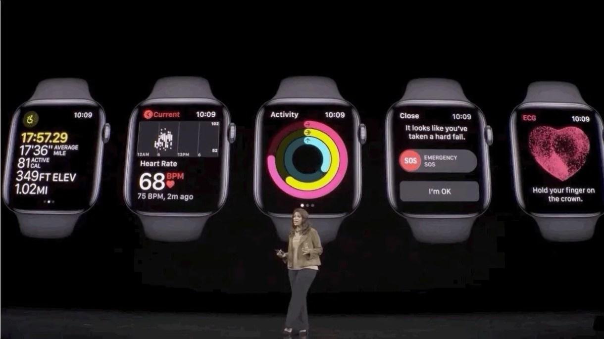 ميزات ساعة أبل Apple Watch Series 5