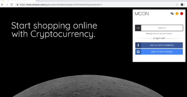 بالفيديو طريقة الشراء من أمازون والدفع بالعملات الرقمية عن طريق إضافة Moon - تقني نت العملات الرقمية