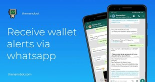 مشروع NANO يتيح إرسال العملات الرقمية عبر تطبيق WhatsApp - تقني نت العملات الرقمية