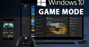 طريقة تعطيل ميزة Game Mode في ويندوز 10 - تقني نت التكنولوجيا
