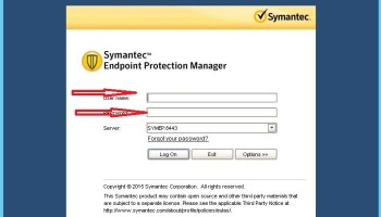 Installing the Symantec Endpoint Protection client with