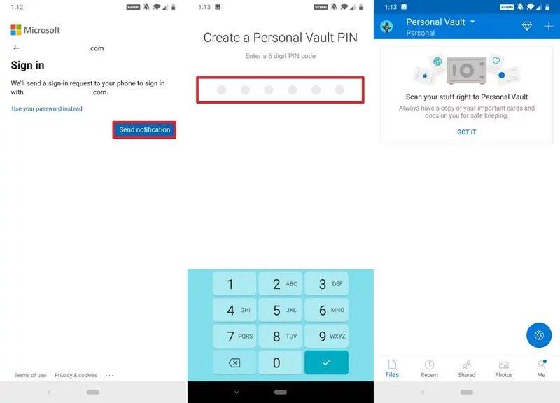 Cách thiết lập lưu trữ bảo mật Personal Vault trên One Drive