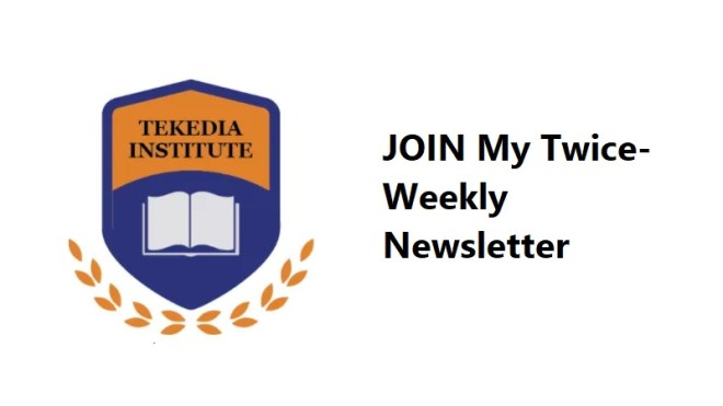 Join My Twice-Weekly Newsletter