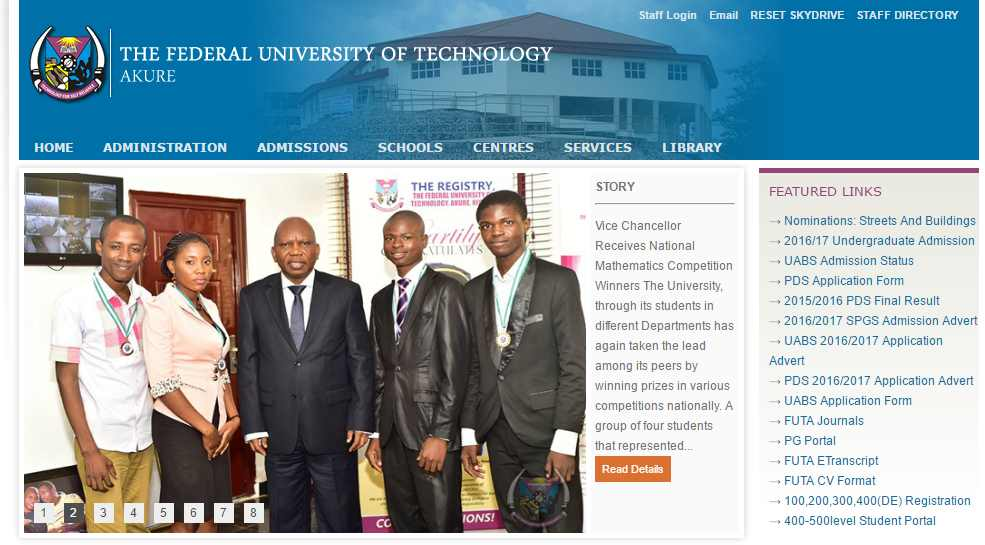 Nigerian Federal Universities Of Technology Ranking - Federal University of Technology, Akure Is #1 And Best In The Nation