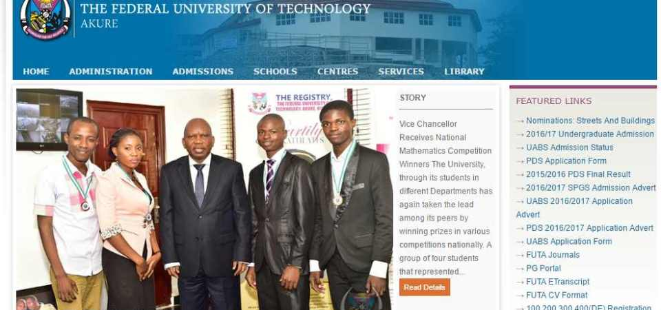 Nigerian Federal Universities Of Technology Ranking – Federal University of Technology, Akure Is #1 And Best In The Nation