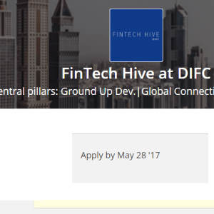 Dubai invites African fintech entrepreneurs – apply to FinTech Hive at DIFC accelerator
