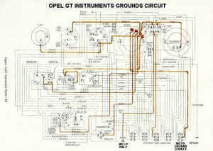 Opel GT instruments  A brief review