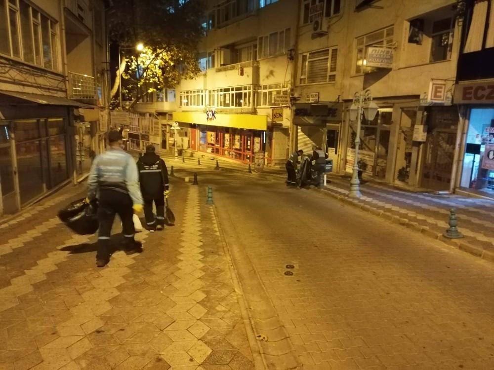 Şehir sokak sokak temizleniyor