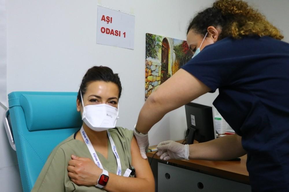 Tekirdağ'da 2. doz aşılar başladı