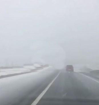 Tekirdağ'da yağan kar kısa süreli sevinç yaşattı
