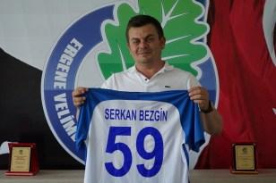 Ergene Velimeşespor'da yeni başkan Serkan Bezgin