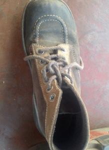 アフリカ某国で買ったブーツ