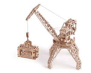 タワークレーンの立体模型