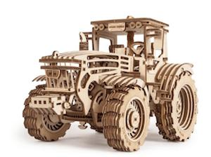トラクターの立体模型パズル