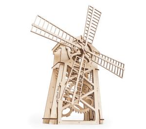 風車の立体模型パズル