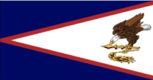 アメリカンサモアの国旗(地域の旗)
