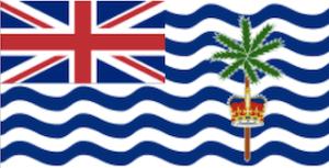 英国海外領土インド洋地域の国旗