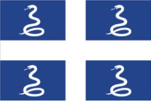 フランス領海外県マルティニクの国旗