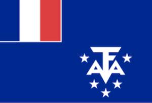 フランス海外領土南極地方の旗