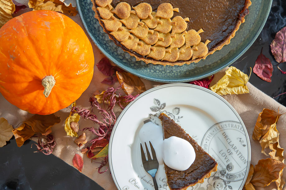 Glutenfri og Vegansk Pumpkin Pie