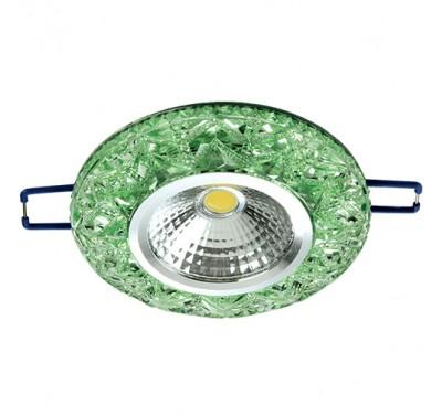 LED XN-0215 3W GREEN 5000K