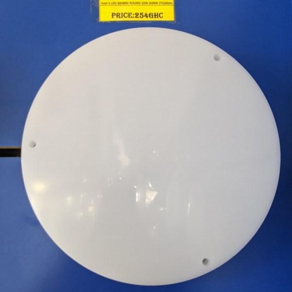 Svet-k LED GEMINI ROUND 20W 6000K (TS)20sht