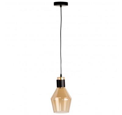 8055-1B E27 40W Amber Glass