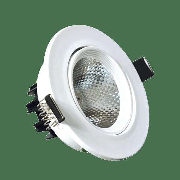 Spot LED COB PLASTIC 5W WHITE 6000K (HAIGER)