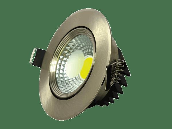 Spot LED COB 5W SATIN 6000K (HAIGER) 60pcs