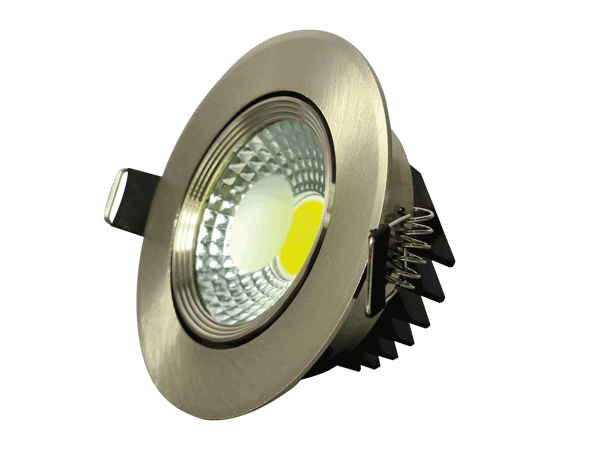 Spot LED COB 5W SATIN 6000K (HAIGER) 60pcs