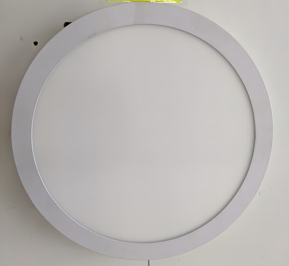 LED Round Panel 24W 6000K Surface /M 30sht