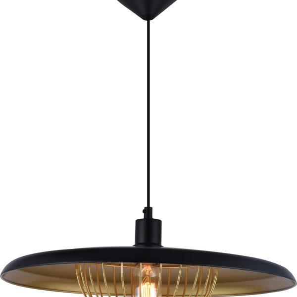 Sv.podvesn. MD53171D-1L BLACK 40W E27 (TEKAVIZE)