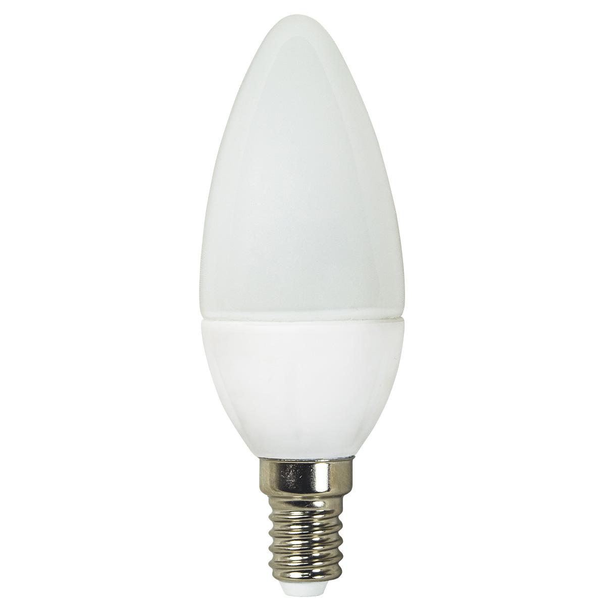 Lampa LED C35 3W 250LM E14 6400K(ECOLITELED)100sht