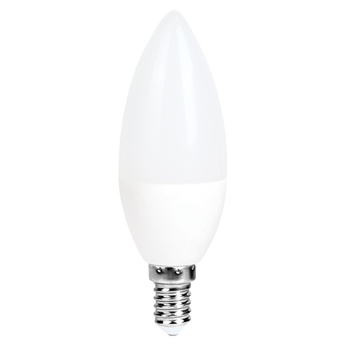 Lampa LED C37 6W 470LM E14 2700K(ECOLITELED)100sht