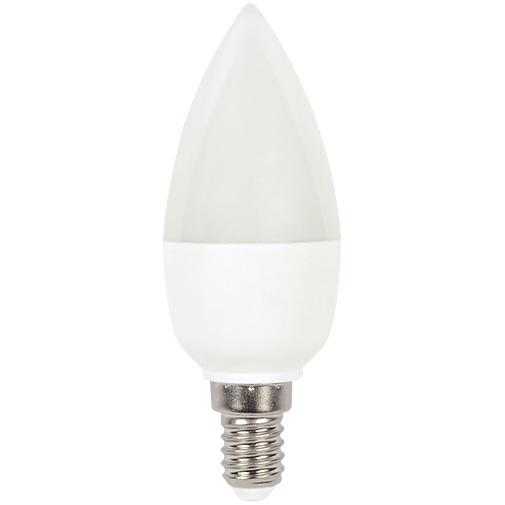 Lampa LED C37 6W 470LM E14 6000K(ECOLITELED)100sht