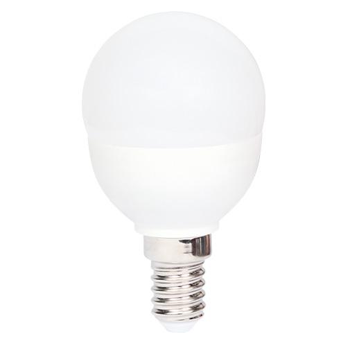 Lampa LED P45 6W 470LM E14 5000K(ECOLITELED)100sh