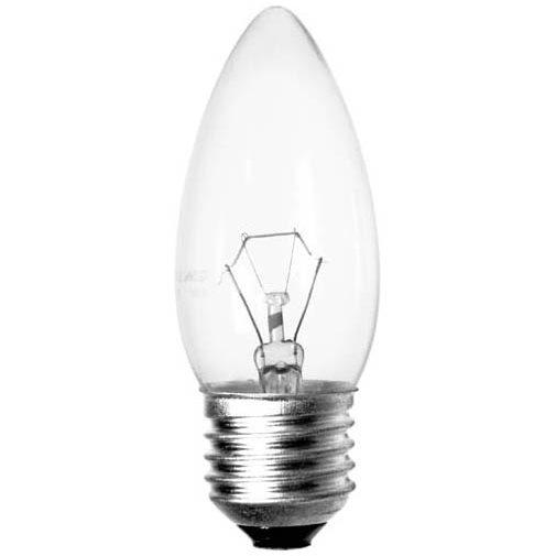 LampaC35 40W E14 CLEAR (HAIGER/ TECHNOLIGHT)100