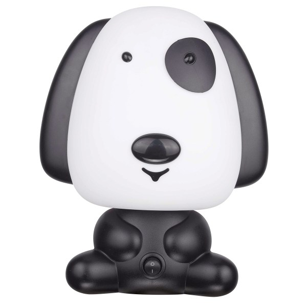 Black and White Puppy Dog lamp