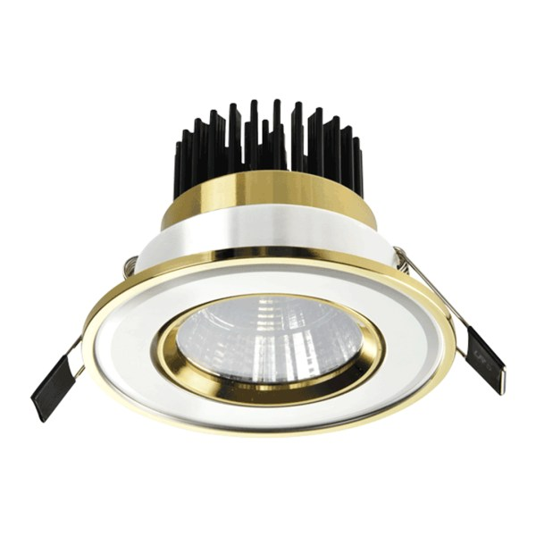 Spot LED OC017 5W WHITE GOLD 5000K (TEKLED) 60sht