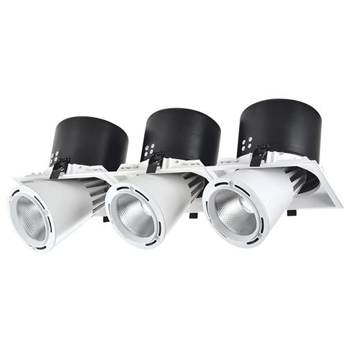 Lighting Fixture DL LED LS-DK913-3 3x40W WHITE 5700K4sh