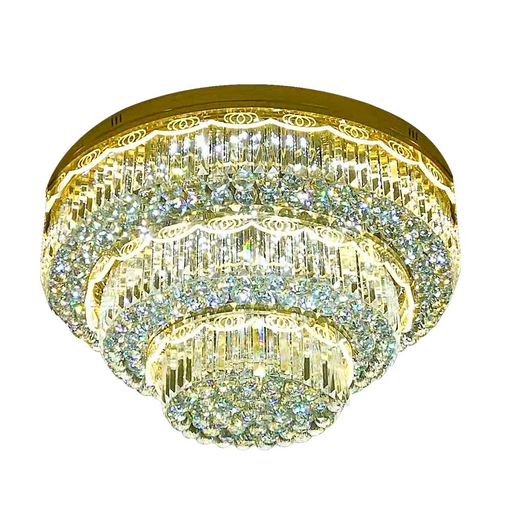 Chandelier SY6074-12 E14 D1000 Crystal Ceiling Chandelier