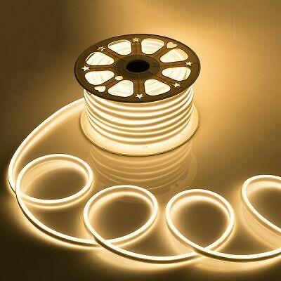 LED Strip Neon Light Warm White 6W/M 220V IP65100 Min 5M