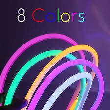 LED Strip Neon Light  RGB 11W/M 220V IP65100 Min 5M