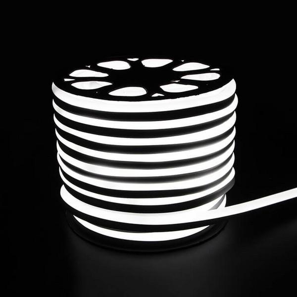 LED Strip Neon Light White 6W/M 220V IP65100 Min 5M