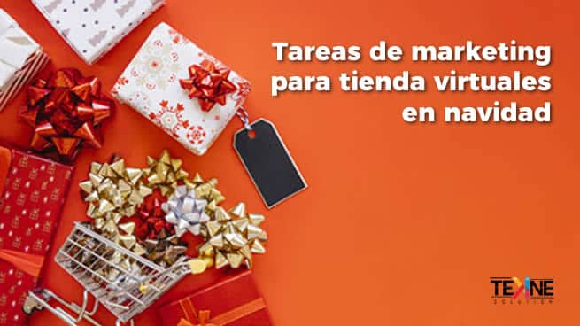 Tareas de marketing para tienda virtuales en navidad
