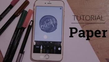 Bli kreativ med Paper - ett gratis ritprogram för iPad och iPhone 56a4437d71e4b