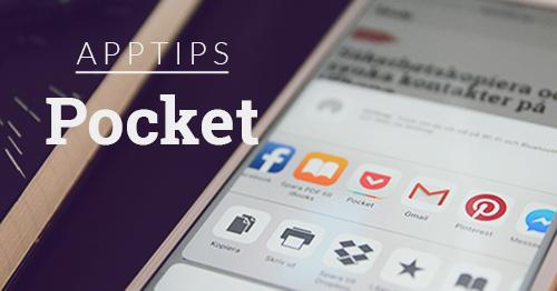 apptips pocket app spara webben facebook