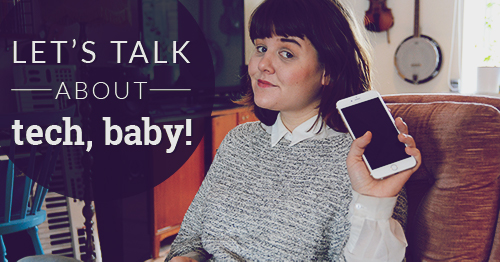 elin haggberg teknikbloggare femtech kvinnor i tech facebook