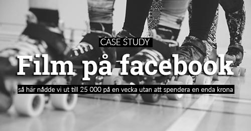film på facebook marknadsföring reklam